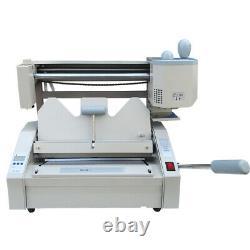 110V A4 Hot Melt Glue Book Binder Binding Machine + Gift Wireless Paper Binder