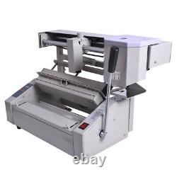 110V Perfect Wireless A4 Book Binding Machine Hot Melt Glue Book Paper Binder US