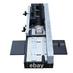 1200W A4 Desktop Hot Melt Binding Machine Hot Glue Book Binder 0-320mm WD-40A US