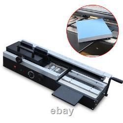 1200W Desktop Hot Melt Glue Plastic Binding Machine 0-320mm A4 Book Paper Binder