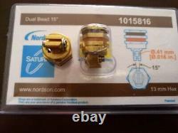 1pc New Nordson hot melt machine double hole nozzle 1015816