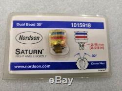 1pc New Nordson hot melt machine double hole nozzle 1015918