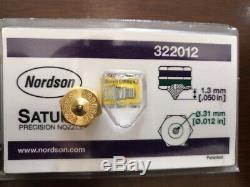 1pc New Nordson hot melt machine single hole nozzle 322012