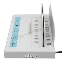 220V 50mm Electric Desktop Hot Melt Binding Machine Sheet Envelope For A4