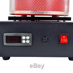 220V Alloy Gold Silver Melting Kiln 3KG Digital SSR Controled Furnace New Hot
