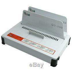 220V GD380 Automatic Hot Melt Binding machine A3 A4 A5 Book Envelope Binder