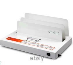 220V Hot Melt Binding Machine Automatic A3 A4 A5 Book Envelope Binder GD380A