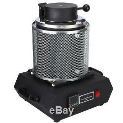 2KG Melting Furnace Silver Gold Smelter Melting Furnace Instrument AU Plug HOT