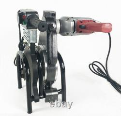 2.48-7.87inch 4 Clamps Pipe Fusion Welder PE HDPE PP Piping Hot Melt Engine Melt