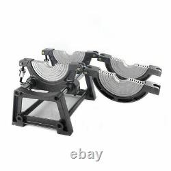 2 Clamps Manual HDPE Pipe Fusion Welder 63-200mm Pipe Hot Melt Welding Machine