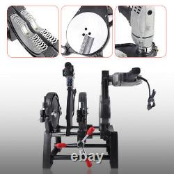 2 Clamps Pipe&Fitting Fusion Welder PE HDPE PB Pipe Hot Melt Welding Machine USA