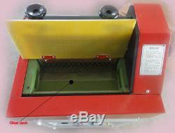 31cm Hot Melt Adhesive Gluing Machine Glue Coating for Leather, Paper 220V
