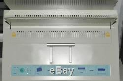 320X50mm Hot melt binding machine Electric Glue Book Binder for A3 A4 A5 A6