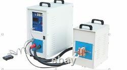 35KW Medium Frequency Induction Melting Furnace-hot