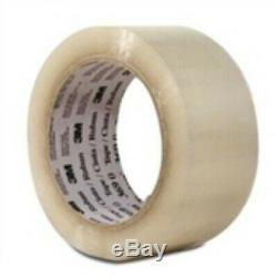 36 2x110 yds. 1.6 Mil Clear 3M #369 Tartan⢠Hot Melt Carton Sealing Tape