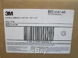 3M (3747) 1/2 Dia. X 12 Length Tan Hot Adhesive Melt Glue Stick Case of 154