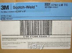3M (3792 LM TC) 5/8 x 2 Scotch-Weld Clear Hot Melt Glue Stick (11 lb Box)