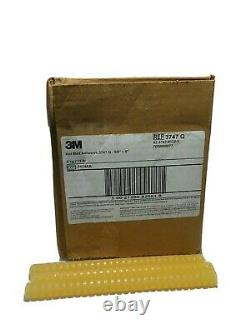 3M 5/8 Dia. X 8 Length Tan Hot Adhesive Melt Glue Stick, 5K 11 LBs