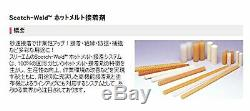 3M Hot Melt Adhesive 3764 Q, Clear, 5/8 in x 8 in, 11 lb/case