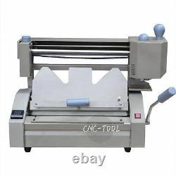 40MM Desktop Glue Binding Machine Manual Hot Melt Glue A4 Book Paper Binder 220V