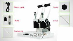 40mm 220V Manual Hot Melt Binding Book Binder Binding Machine Easy Operation New