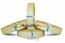 6 rolls 2 Inch x 1000 Yards Clear Packing 2 Mil Hotmelt Machine Packaging Tape