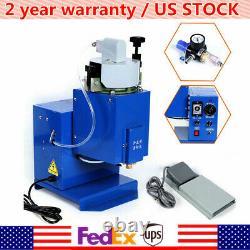 900W Hot Melt Glue Spraying Gluing Machine Adhesive Injecting Dispenser Blue