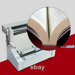 A4 Book Binding Machine Hot Glue Book Binder +10LBS Hot Melting Glue Pellets New