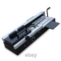 A4 Book Binding Machine Hot Melt Glue WD-40A Book Paper Binder Wireless 110V