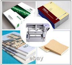 A4 Book Binding Machine Wireless Hot Melt Glue Book Paper Binder Puncher Perfect