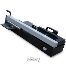 A4 Desktop Book Binding Machine Hot Melt Glue Book Paper Binder 1200W USA STOCK