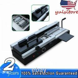 A4 Desktop Hot Melt Glue Book Binding Machine Desktop Plastic Binding 10-400Page
