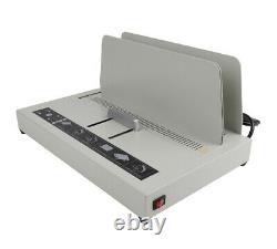 A4 Size Electric Hot Melt Bookbinding Machine Thermal Book Binder 220V