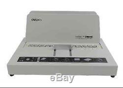 A4 Size Electric Hot Melt Bookbinding Machine Thermal Book Binder 220V BI
