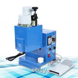 Adhesive Injecting Dispenser Hot Melt Glue Spraying Gluing Machine 110V USA