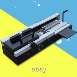 Book Binding Machine Hot Melt Glue Book Paper Binder 110V 1200W Office Equipment