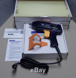 Bostik TG4 Industrial Hot Melt Glue Gun & 150 Heavy Duty Glue Sticks 12x15 NOS