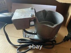 C. Palmer Hot Pot 2 4 Lb Lead Melter W StandEasy Melt And Pour Free Shipping