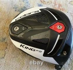 Cobra King F9 Speedback Black/Avalanche 9 Driver Head withHotmelt 201.7 Grams