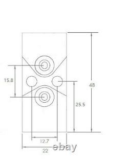 Crafers Group Hot Melt Glue Gun Valve Short Back Module Cut Out