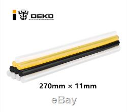 DEKO 10PCS 11270mm Hot Melt Glue Stick DIY Glue Gun Sticks Paste Tools
