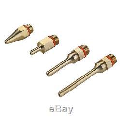 DEKO 4PCS Copper Nozzle Replacement Nozzle for Hot Melt Glue Gun