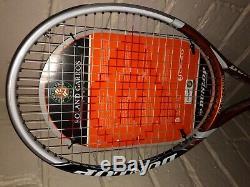 Dunlop M-Fil 300 Hotmelt Roland Garros LTD Release-Very Rare-Grip3 + Cover