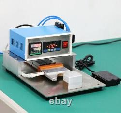 Electric Heating Aluminum Strip Fabric Hot Melt Welding Pressing Machine 220V