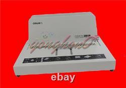 Electric Power Hot Melt Binding Book Binder Binding Machine For A4 220V NEW