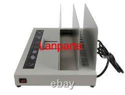 Electric Power Hot Melt Bookbinding Machine Thermal Book Binder For A4 220V
