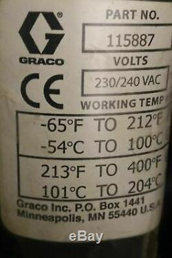 Graco 115887 Hotmelt / Hot Warm Melt Heated Hose 20