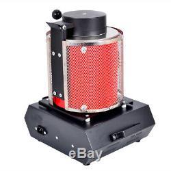 HOT SALE Furnace Kiln Schmelzen Ofen Melting Alloy 3KG 220V Gold Silver 2012F
