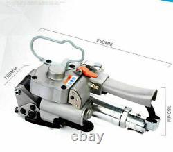 Handheld Pneumatic Strapping Machine Hot Melt Binder Baler PET/PP Packaging Tool