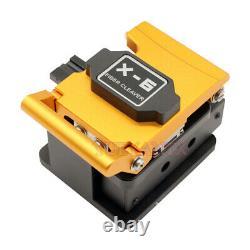 High Precision Hot Melt Optical Fiber Cutter Fiber Optic Cleaver Cutting Tool